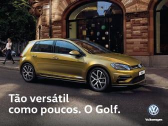 O novo e renovado VW Golf já chegou á Caetano Drive.