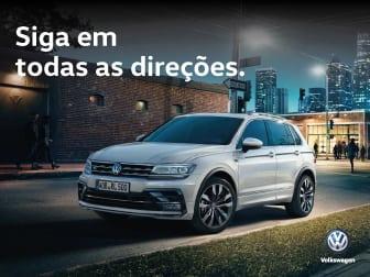 Volkswagen Tiguan, acesso total na Caetano Drive!