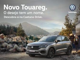 Novo Touareg: o desejo tem um nome. Descubra-o na Caetano Drive.